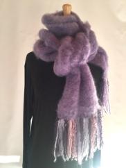 La Luna mohair scarf a