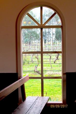 Immerse chapel window vista vines 2017 spring