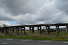 Yarra Valley Melba Highway old rail bridge 2017