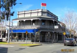 Shepparton Aussie Hotel exterior a 1 Sept 2017