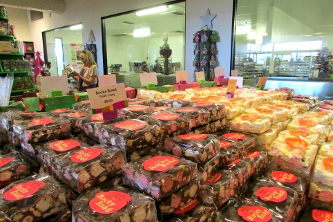 Yarra Valley chocolaterie rocky road and factory Dec 2017