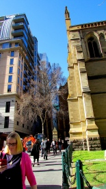 Melbourne city architecture old meets new Aug 2018