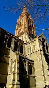 Melbourne city scapes church Aug 2018