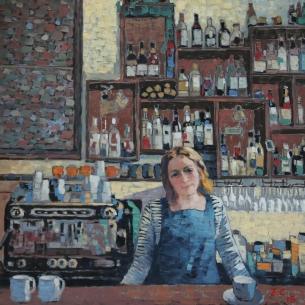 art at lg caca bar girl_by echo
