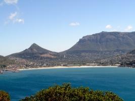 Cape Town Feb 2019 Hout Bay view Chapmans Peak Road