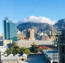 Cape Town table cloth Table Mountain 12 Feb 2019