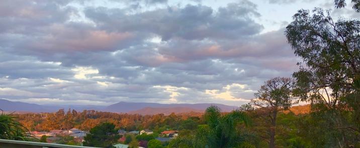 Lilydale view autumn Yarra Valley 25 March 2019