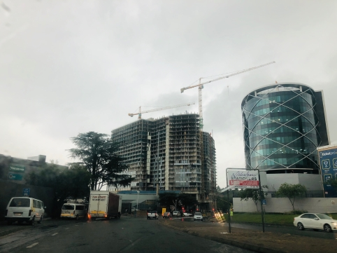 Sandton rain Feb 2019