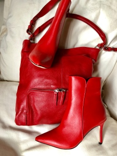 tilly self sixty Myer Wayne Cooper red boots