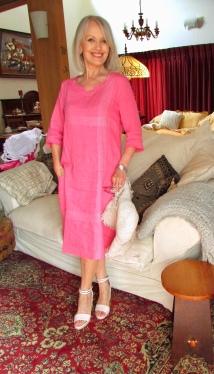 Tilly self sixty pink Gordon Smith linen Feb 2019jpg