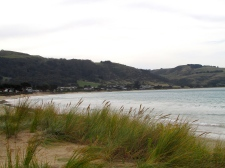 Apollo Bay beach town 30 April 2019