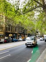 Melbourne city streets 10 April 2019