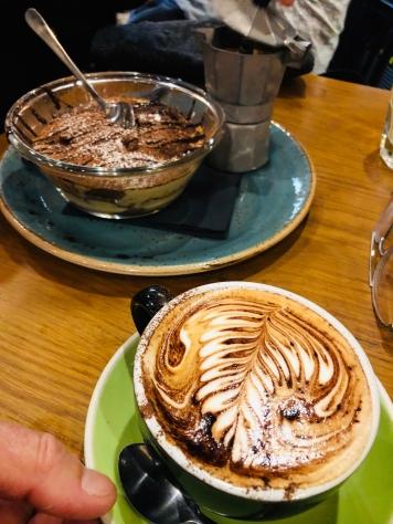 Melbourne coffee tiramisu Cafe Andiamo 10 Apr 2019