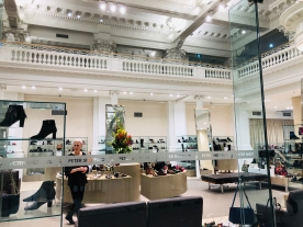 Melbourne Collins Street old revived modern shops shoes 10 Apr 2019