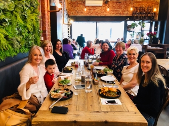 Tilly SA Women lunch Camberwell Bakers Wife 14 May 2019