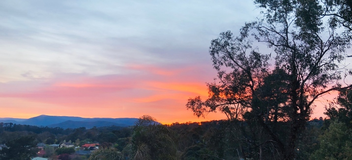 Lilydale sunrise spring 27 Sept 2019