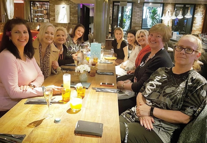 SA Women in Melbourne and Tilly lunch The George 6 Dec 2019