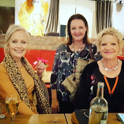 Tilly, Rika and Bernice lunch SA Women Melb The George 6 Dec 2019