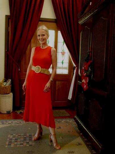 tilly self sixty red dress Xmas 2019