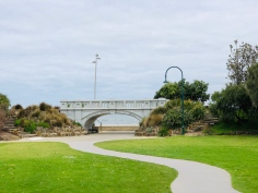 St Kilda bridge beach 2020